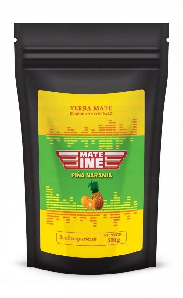 Yerba Mate Mateine Pina Naranja 500g Ananas