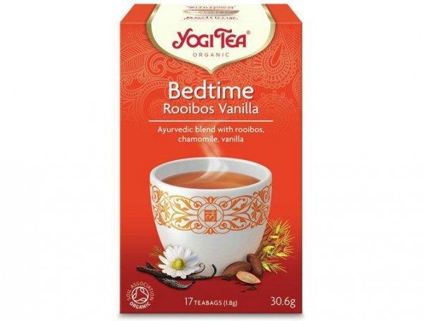 Herbata Na Sen Rooibos Wanilia Bio 17x1,8g Yogi Tea
