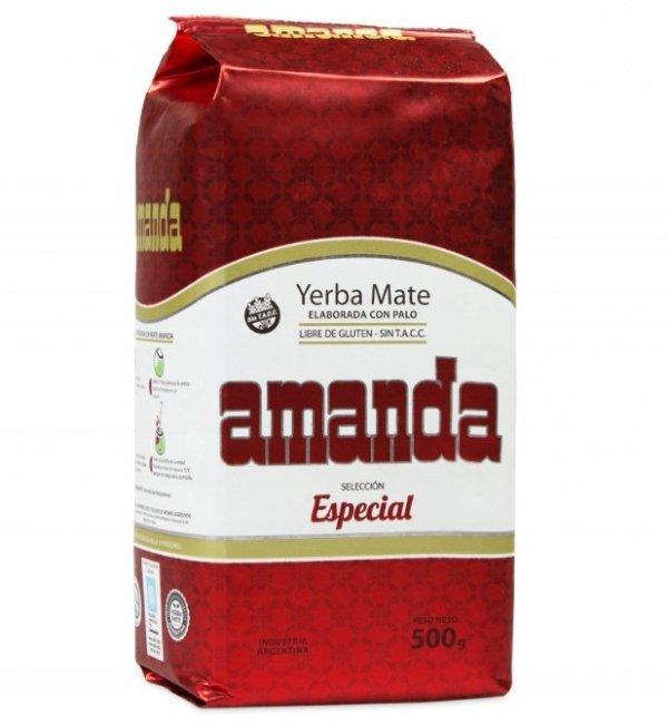 Yerba Mate Amanda Seleccion Especial - 500g
