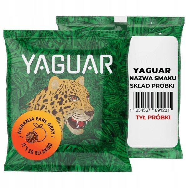 Yerba Mate Yaguar Naranja Earl Grey 50g