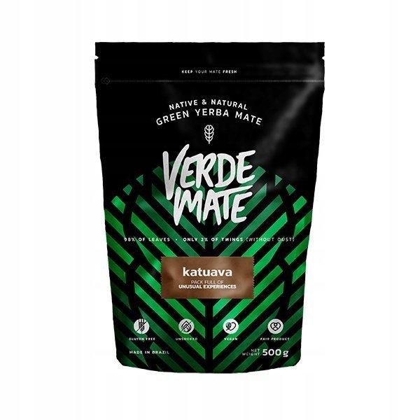 Yerba Verde Mate Green Katuava 500g Catuaba Kora