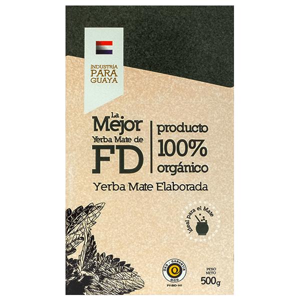 Yerba Mate - La Mejor FD Organica - 500g BIO