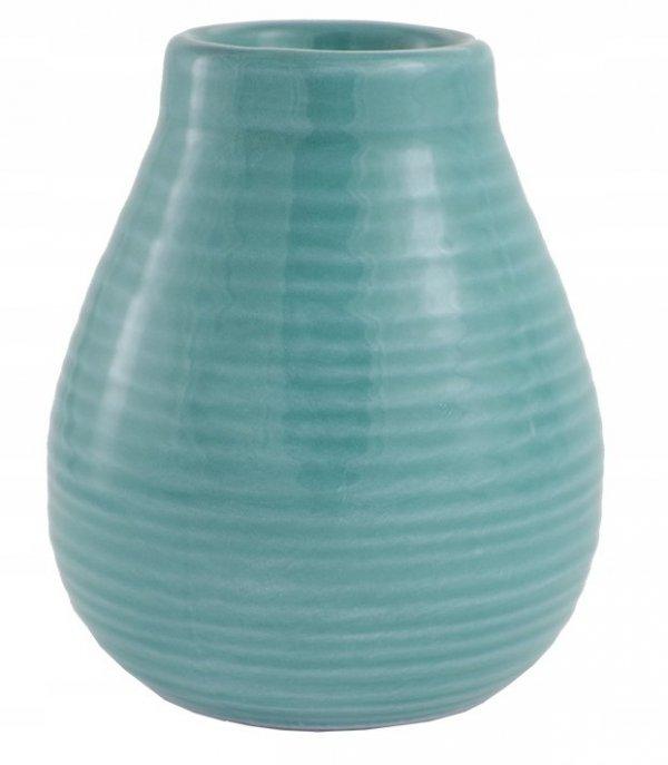 Matero Ceramiczne Calabaza Niebieskie - Yerba Mate