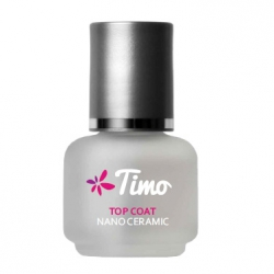 TIMO TOP COAT NANO CERAMIC UTWARDZACZ DO PAZNOKCI 15ML