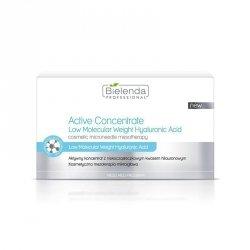 BIELENDA Zestaw aktywnych koncentratów z niskocząsteczkowym kwasem hialuronowym 10 x3 ml