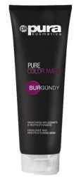 PURA COLOR MASK MASKA DO WŁOSÓW BURGUND 250ML