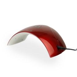 LAMPA UV LED SUN Q5 24W - 2 czasy- CZERWONA