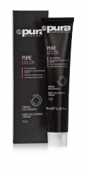 PURA PURE COLOR FARBA DO WŁOSÓW 100ML 4/3 MEDIUM GOLDEN CHESTNUT