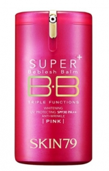 SKIN79 Krem BB HOT PINK SUPER+ BEBLESH BALM TRIPLE FUNCTIONS