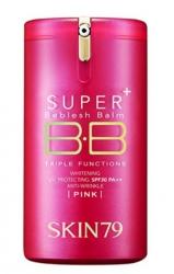 SKIN79 Krem BB HOT PINK SUPER+ BEBLESH BALM TRIPLE FUNCTIONS