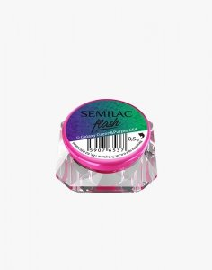 SEMILAC 664 FLASH GALAXY GREEN&PURPLE