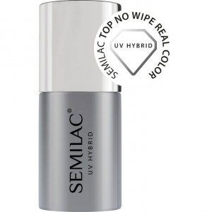 SEMILAC TOP NO WIPE REAL COLOR 7 ML