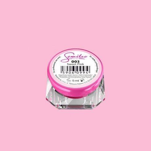LAKIER ŻELOWY UV COLOR SWEET PINK KOLOROWY SEMILAC 003 5Ml