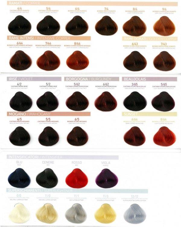 PURA PURE COLOR FARBA DO WŁOSÓW 100ML 7/4 Copper Medium Blond
