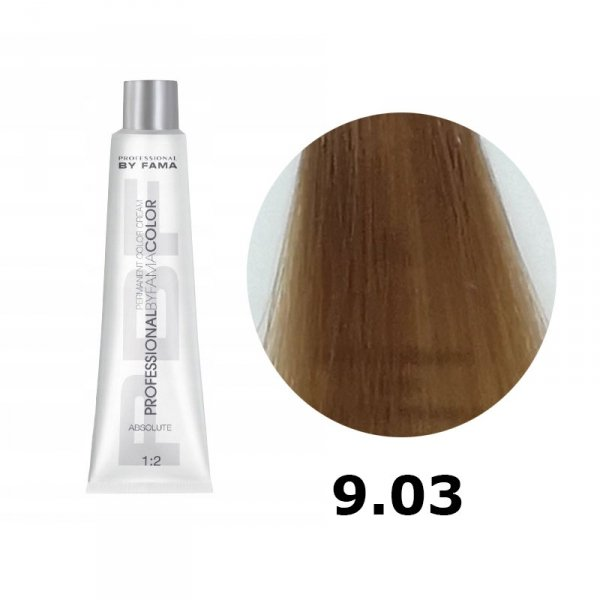 BY FAMA COLOR FARBA DO WŁOSÓW 80ML 9.03