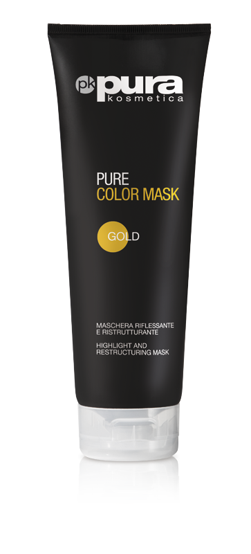 PURA COLOR MASK MASKA DO WŁOSÓW GOLD 250ML