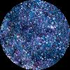 SEMILAC 666 FLASH GALAXY BLUE&PURPLE