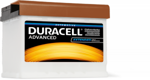 AKUMULATOR DURACELL ADVANCED DA63 12V 63Ah 650A P+