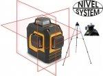 LASER KRZYŻOWY 3x360st NIVEL SYSTEM CL3D + STATYW SJJ-M1