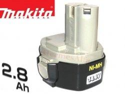Akumulator ORYGINAŁ MAKITA 1435 Ni-Mh 14,4V 2,8Ah (d.3,0Ah*)