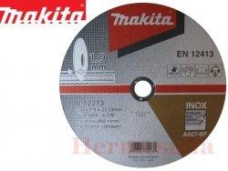 TARCZA DO CIĘCIA METALU INOX 1,9 x 230 MAKITA B-12273