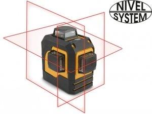 LASER KRZYŻOWY 3x360st NIVEL SYSTEM CL3D