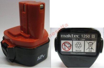 Akumulator ORYGINAŁ MAKTEC 1250 MT063 12V 1,3Ah