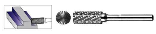 FREZ Z WĘGLIKA SPIEKANEGO WALCOWY 10mm / 6mm B1020/C