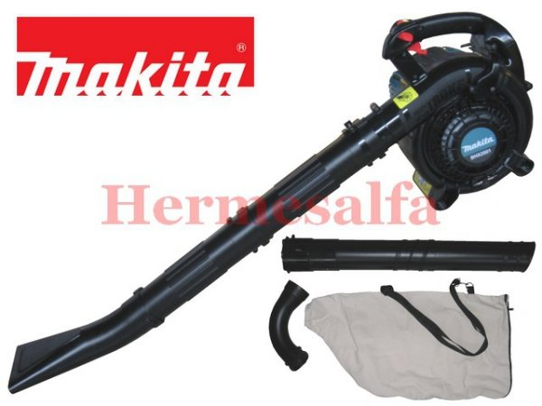 DMUCHAWA SPALINOWA BHX2501 -ZESTAW MAKITA BHX 2501