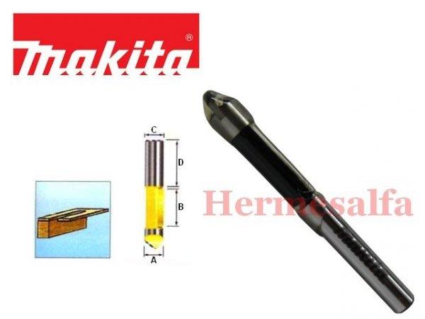 FREZ DO DREWNA PROSTO-CZOŁOWY 6mm MAKITA D-09335