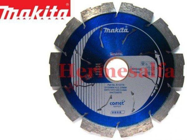 DIAMENTOWA TARCZA TNĄCA 125mm MAKITA B-12778