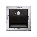 Oprawa oświetleniowa LED z czujnikiem ruchu, 14V antracyt, metalizowany