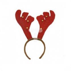 Rogi renifera czerwono-brązowe 39-268