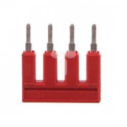 Mostek czerwony 4-torowy 25A 2002-404/000-005