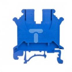Złączka szynowa 1-torowa ZJU-6/BL niebieska R34RR-07010000321