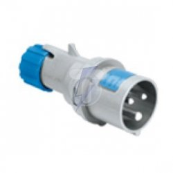 Wtyka przenośna prosta MULTIMAX 16A 2P+E 200-250V 50-60HZ 6H IP44 P700126