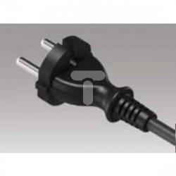 Przewód przyłączeniowy z wtyczką PP-21 b/u 4,5m H05RR-F 2x1