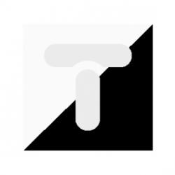 Złączka przelotowa 3/4, dwumateriałowa