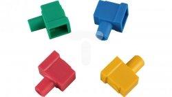 Złączka śrubowa (czerwona, niebieska, zielona, żółta) czerwony, niebieski, zielony, żółty Z-1
