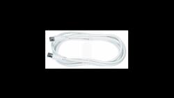 Kabel sznur 2,5m wtyk telewizyjny QUICK-FIX PREMIUM SAK 251-02