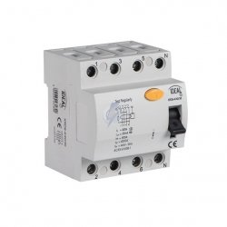 Wyłącznik różnicowo-prądowy KRD6-4/63/30 23185
