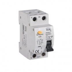 Wyłącznik różnicowo-prądowy z zabezpieczeniem nadmiarowo-prądowym KRO6-2/C16/30 23217