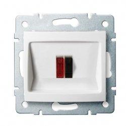 Gniazdo głośnikowe pojedyncze LOGI 02-1450-002 bi 25114