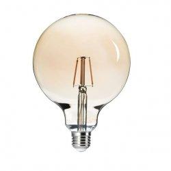 Lampa LED G125 FILLED 6W E27-WW 26042