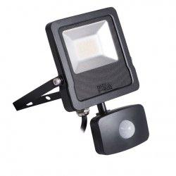 Naświetlacz LED z czujnikiem ruchu ANTOS LED 20W-NW-SE B 27095