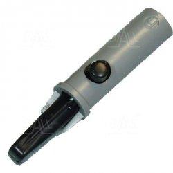 Krokodylek bezp. gn. 4mm AK 10-BK 60V=/30V~ 6A