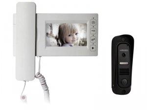 MC-430CM Monitor LCD 4,3,  obsługa dwóch wejść - możliwość rozszerzenia przez MD-KAM2/4, wbudowana pamięć 20 z