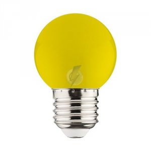 RAINBOW LED 1W YELLOW