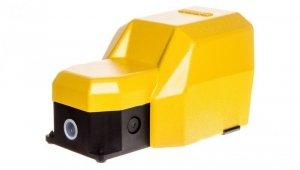 Wyłącznik nożny pojedynczy z osłoną żółty metal 1Z 1R   2Z 2R 2 kroki T0-PDKS11UX20