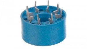 Gniazdo do przekaźników serii 60.12 88.12 do płytki drukowanej (średnica 20,5mm) 90.14